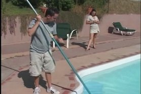 MILF Seduces the Pool Boy - Cireman