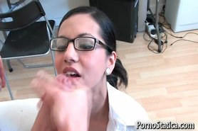Petite Holly Dee fucking and sucking