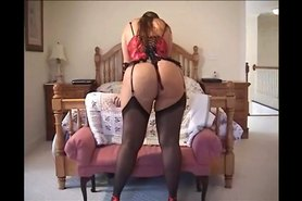 Belle Big Dildo Scene