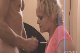 woman films guy getting violated