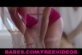 FIT young babes makes passionate love to each other