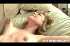 62yo milf plays it like a whore