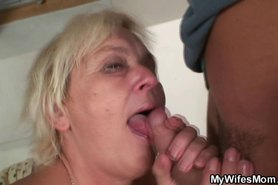 granny seduces her son in law