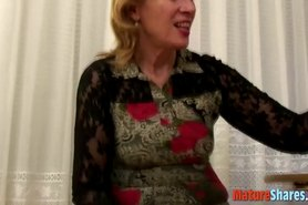 Amateur mature and a big young cock