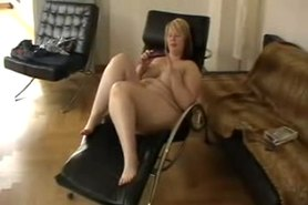 Hot dildo action of Becky the german sexblonddi
