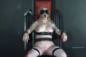 Tower of pain tortures of blonde lifestyle slavegirl
