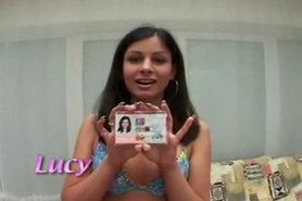 Lucy Lee show your  Id and fuck