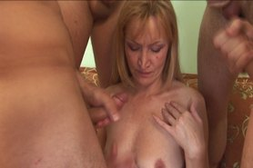 mature gangbang  (no sound)