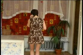 RUSSIAN MOM 1hot mom with a young man