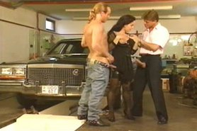 mechanic and husband fucks his wife good!