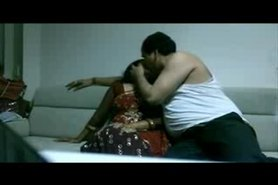 Boss enjoy & fucking with her indian Aunty