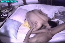 amateur sex in relaxing lounge homemade