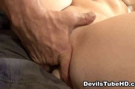 Sexy amateur redhead babe sucks cock and gets fucked