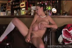 Busty Merilyn - Ukrainian Bar Maid