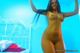 Best awesome brunette tanned teen
