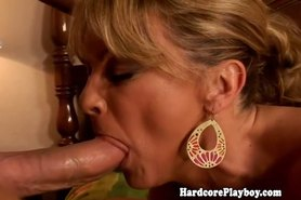 Glamcore blonde pounded with cock