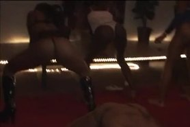 Black Ghetto Strippers Dance at Bachelor Party - Ameman