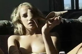 smoking fetish Sophie Evans