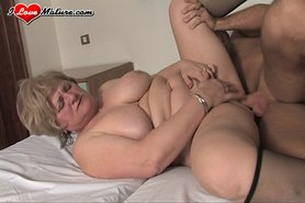Mature BBW Lady Lynn fucks a young guy so silly view on tnaflix.com tube online.