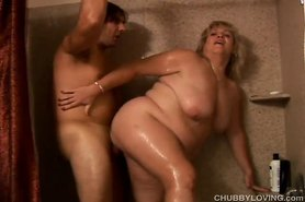 Beautiful busty blonde BBW Jenna loves to fuck