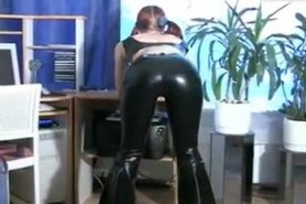 Hot Redhead Sub Sucks and Fucks
