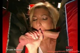 Piss; Blonde babe Vivian is very cockhungry