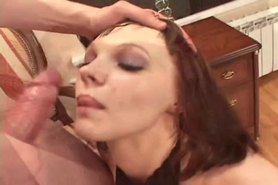 Crotchless Catsuit Anal With Josy