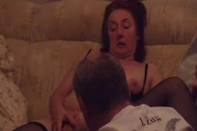 Fingering a German Granny to an orgasm