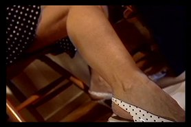 Slut getting her toes sucked