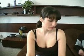 Nasty Spanish Maid...F70 view on tnaflix.com tube online.