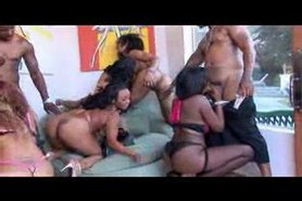 Black orgy part 1of2