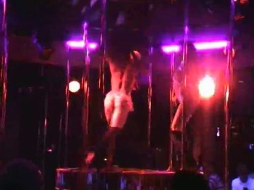 Striptease Show In Gogo Bar In Thailand