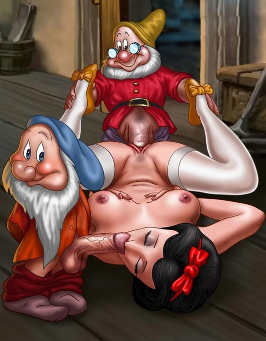 Snow white and 7 dwarfs xxx naked ameteur model
