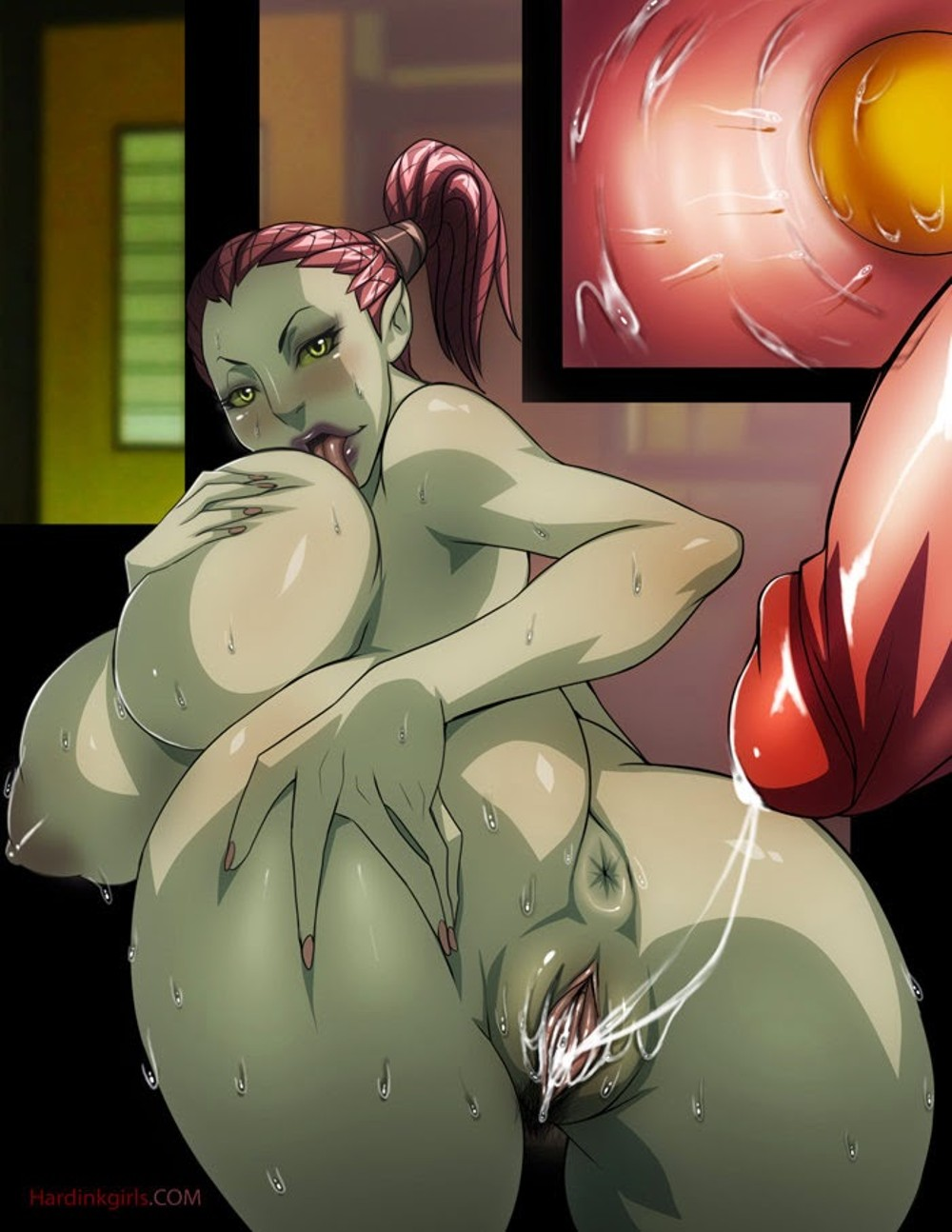 Girl and orc hentai nackt videos