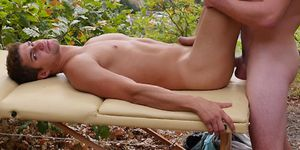 Gay Massage Bed