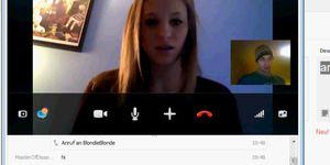 Skype pron