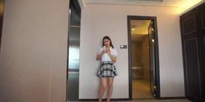 Chinese College Platinum Girl for more videos http://cu7.io ...