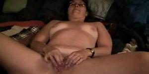 Brunette mature anal