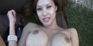 Hispanic naked woman