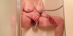 Final, sorry, sex with a shower head