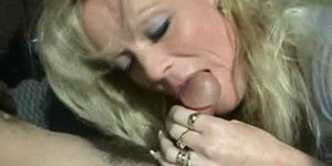 blowjob Hot mature blonde