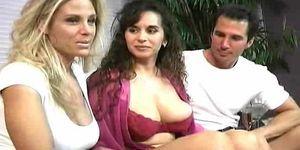 Classic milf threesome