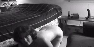 Interracial on all fours Homemade wife