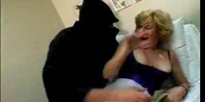 Granny surprise anal