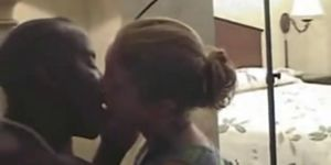 Hubbby films wife fucking black