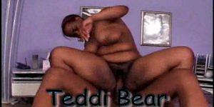 black hairy bbw - Teddi Bear - black hairy bbw girl from Hairy Black Snatch 2