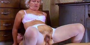 granny effie mature Horny