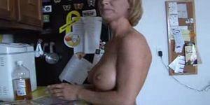 Blond Milf Slays Monster Cock