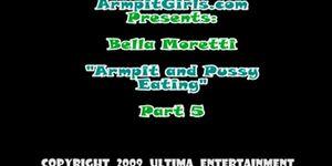 moretti handjob Bella armpit