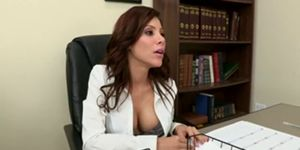 tit Latina office big